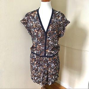 NEW Maje Crepe Animal Print Dress 1